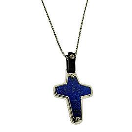 Stephen Webster England Made Me lapis Cross necklace pendant Unisex