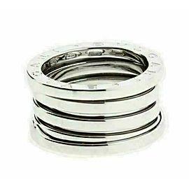BVLGARI Women's B.ZERO1 4 band ring in 18K white gold - size US 5.5 - Italy 50