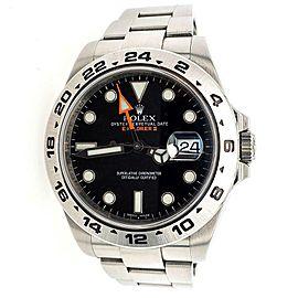 Rolex Explorer II 42mm Black Dial Steel Oyster Watch 216570