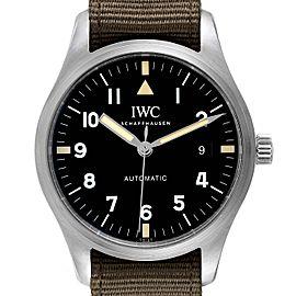 IWC Pilot Mark XVIII Black Dial Automatic Mens Watch IW327007