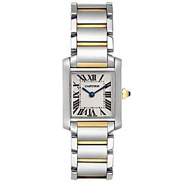Cartier Tank Francaise Small Two Tone Ladies Watch