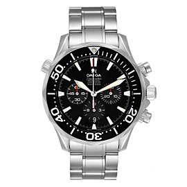 Omega Seamaster Chronograph Black Dial Steel Mens Watch 2594.52.00
