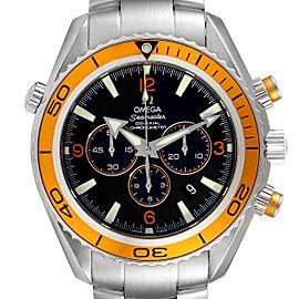 Omega Seamaster Planet Ocean XL Chrono Mens Watch 2218.50.00 Card