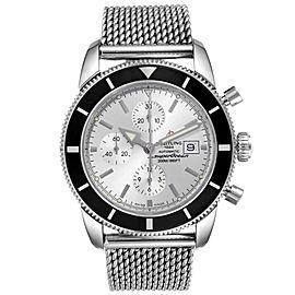 Breitling SuperOcean Heritage Chrono 46 Mesh Bracelet Watch A13320