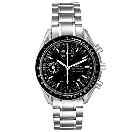 Omega Speedmaster Day Date Black Dial Automatic Mens Watch