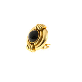 Lagos Metal: Yellow Gold Yellow Gold Onyx, Diamond Womens Pendant