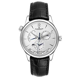 Jaeger Lecoultre Master Geographic Watch 176.8.29.S Q1428421 Box Papers