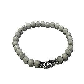 David Yurman 6mm Howlite Spiritual Bead Bracelet