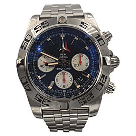 Breitling Chronomat Limited Edition AB0110 Stainless Steel with Blue Dial Automatic 44mm Mens Watch