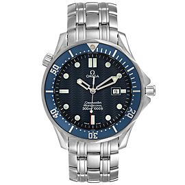 Omega Seamaster 41mm James Bond Blue Dial Steel Watch