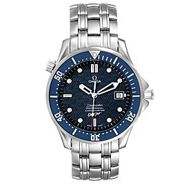 Omega Seamaster 40 Years James Bond Blue Dial Mens Watch