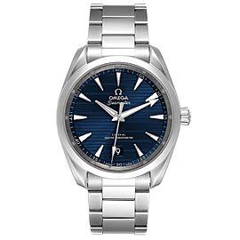 Omega Seamaster Aqua Terra Blue Dial Mens Watch