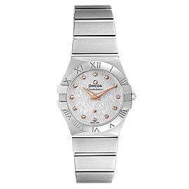 Omega Constellation 27mm Diamond Steel Ladies Watch