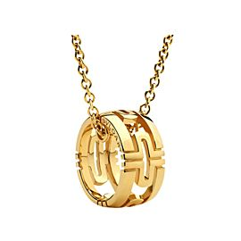Bvlgari 18K Yellow Gold Parentesi Necklace
