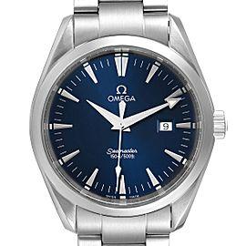 Omega Seamaster Aqua Terra Blue Dial Steel Mens Watch 2517.80.00