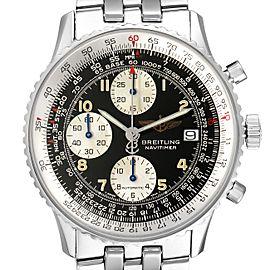Breitling Navitimer II Black Dial Arabic Numeral Steel Mens Watch A13022
