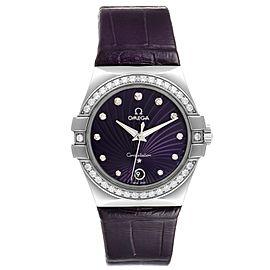 Omega Constellation 35mm Diamond Ladies Watch