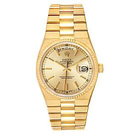 Rolex Oysterquartz President Day-Date Yellow Gold Mens Watch