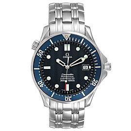 Omega Seamaster 300M Blue Dial Steel Mens Watch