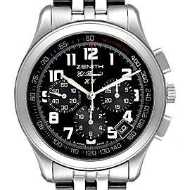 Zenith El Primero Handwound Cronograph Mens Watch 02.0500.420 Box Card