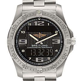 Breitling Aerospace Avantage Titanium Perpetual Alarm Watch E79362