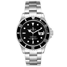 Rolex Submariner Black Dial Stainless Steel Mens Watch