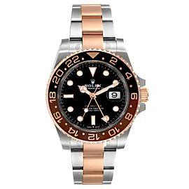 Rolex GMT Master II Steel Everose Gold Mens Watch