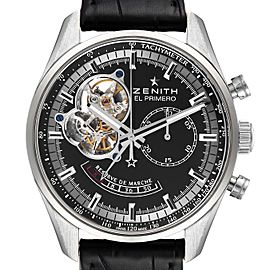 Zenith El Primero Chronomaster Power Reserve Watch 03.2080.4021 Box Card