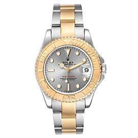 Rolex Yachtmaster 35 Midsize Steel Yellow Gold Slate Dial Watch