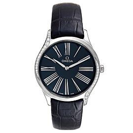 Omega De Ville Tresor Steel Diamond Ladies Watch 428.18.36.60.03.001