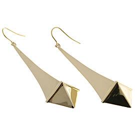 Cartier 18K Yellow Gold Long Dangle Earrings