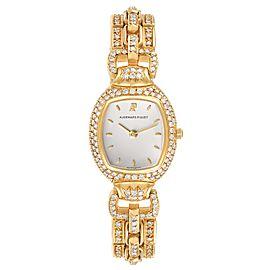 Audemars Piguet Audemarine Yellow Gold Diamond Ladies Watch