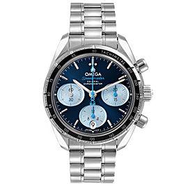 Omega Speedmaster 38 Orbis Blue Dial Mens Watch