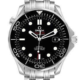 Omega Seamaster Co-Axial Black Dial Watch 212.30.41.20.01.003