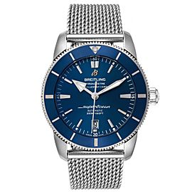 Breitling Superocean Heritage 46 Blue Dial Mens Watch