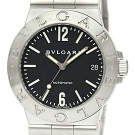 Polished BVLGARI Diagono Sport Steel Automatic Mens Watch LCV35S