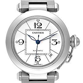 Cartier Pasha C White Dial Automatic Steel Unisex Watch W31074M7