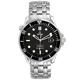 Omega Seamaster Black Dial Steel Mens Watch 212.30.41.20.01.002 Box Card