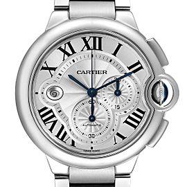 Cartier Ballon Bleu Cronograph Steel Mens Watch W6920076
