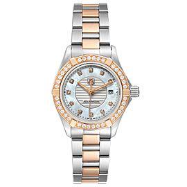 TAG Heuer Aquaracer Mother of Pearl Diamond Ladies Watch