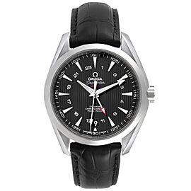 Omega Seamaster Aqua Terra GMT Co-Axial Watch 231.13.43.22.01.001 Box Card