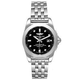 Breitling Galactic 29 Diamond Dial Steel Ladies Watch