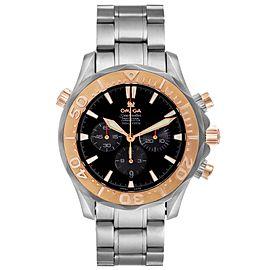 Omega Seamaster 300M Titanium Rose Gold Mens Watch 2294.52.00 Box Card