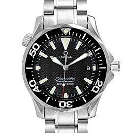 Omega Seamaster James Bond 36 Midsize Black Wave Dial Watch 2262.50.00