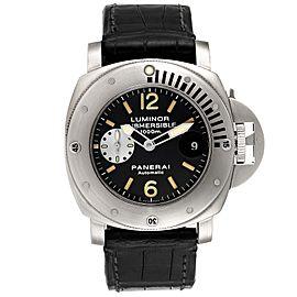 Panerai Luminor Submersible 1000m Steel Mens Watch PAM00064