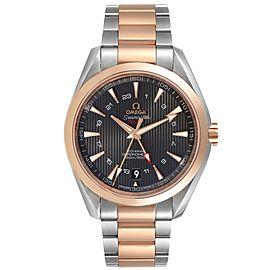 Omega Seamaster Aqua Terra GMT Co-Axial Watch 231.20.43.22.06.003 Box Card