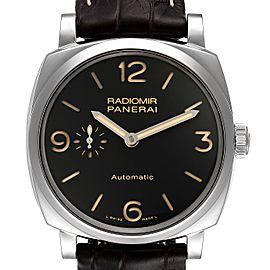 Panerai Radiomir Black Dial 3 Days 42mm Steel Mens Watch PAM00620