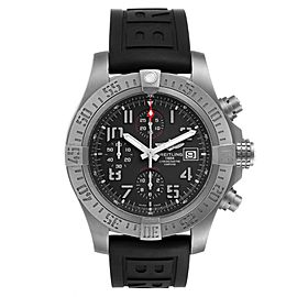 Breitling Avenger Bandit Grey Dial Titanium Mens Watch E13383 Box Papers
