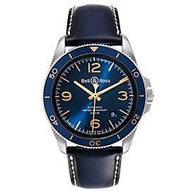 Bell & Ross Heritage Aeronavale Blue Dial Steel Watch