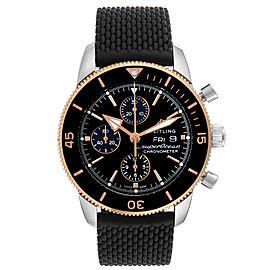 Breitling Superocean Heritage II Steel Rose Gold Watch U13313 Box Card